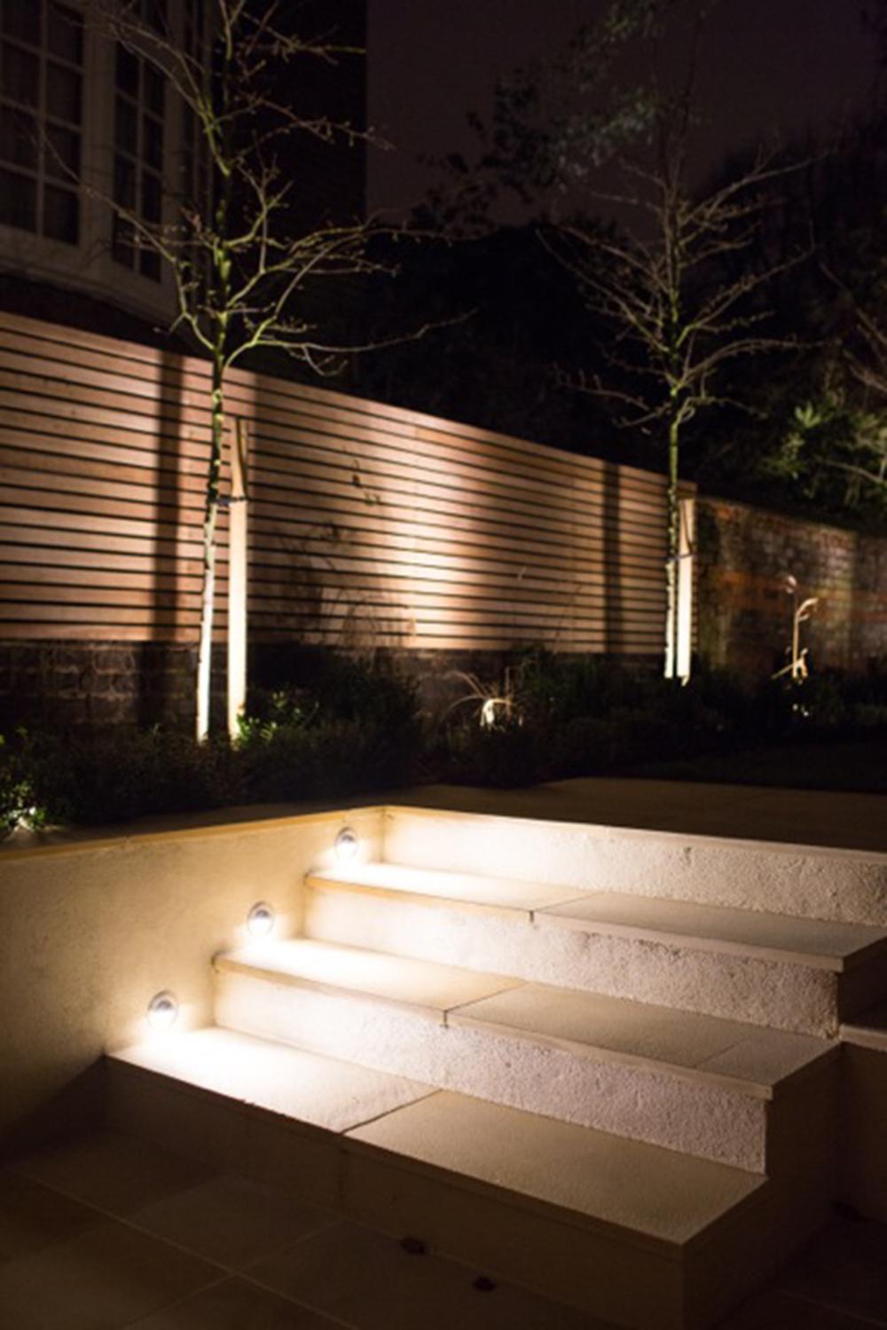 Contemporary garden in north london showing a range of for Garden design job vacancies london